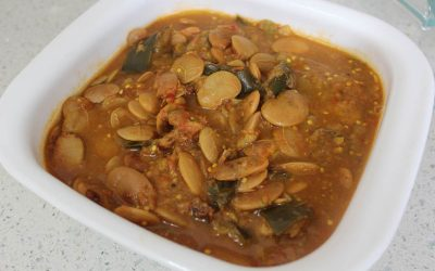 Brinjal and Double Beans